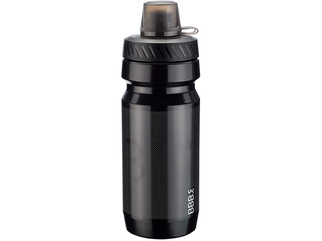 BBB AutoTank Mudcap Autoclose Waterfles 550ml, zwart
